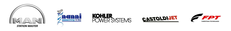 MAN, NANNI, KOHLER POWER SYSTEM, CASTOLDI JET et FPT