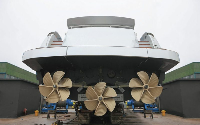 Removal and verification of propellers